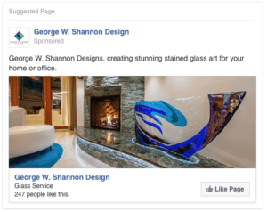 George W Shannon Design Social Media